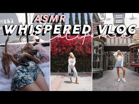 ASMR My Trip To California (Soft Spoken Vlog!) | GwenGwiz