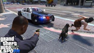 GTA 5 LSPDFR Police Mod 247   LAPD K9 Unit   My Police Dog Choppa Returns To Take Down Suspects