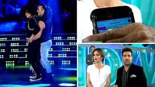 Así renunció Carmen Barbieri al Bailando 2015