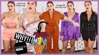 Butt Underwear? sweetie no ? FOLLOWERS pick my FASHION NOVA haul
