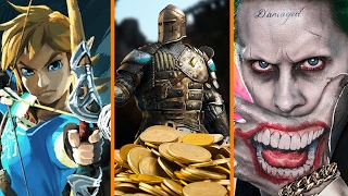 Zelda's SEASON PASS + For Honor Cash Grab + Suicide Squad Boss for PRESIDENT? - The Know