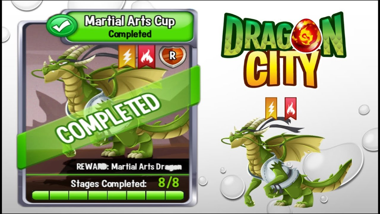 Dragon City Martial Arts Cup Full Unlock 2015 Youtube