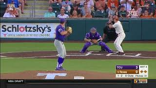 TCU vs Texas Baseball Highlights - May 18
