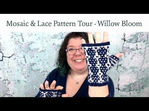 Mosaic & Lace Pattern Tour - Willow Bloom