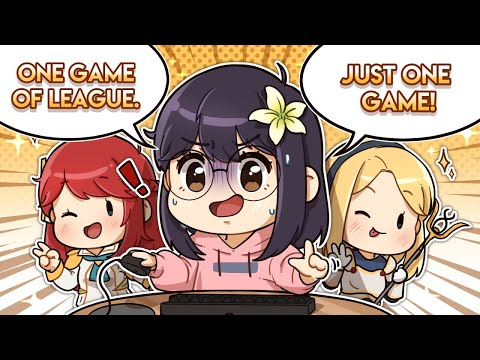 JUST ONE GAME! - League of Legends with Ryan Higa, Natsumiii & Yozu