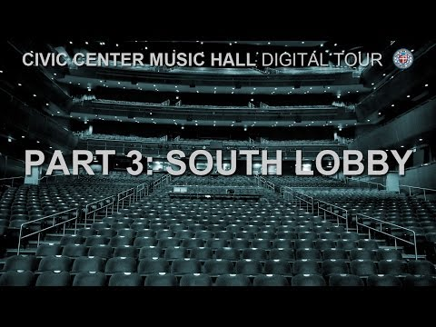 Civic Center Music Hall - South Lobby