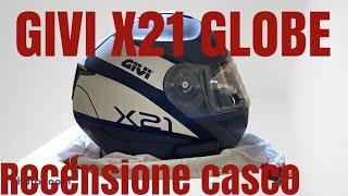 Video recensione del casco modulare di Givi X21 Globe, adatto per uso quotidiano ad un prezzo molto contenuto. Guarda il video per scoprirlo Fatemi sapere ...