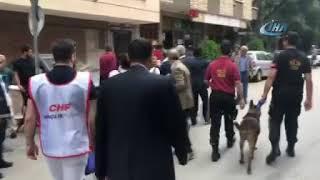 19 Mayıs yürüyüşünde partililer birbirine girdi