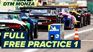 RE-LIVE   DTM Free Practice 1 - Monza   DTM 2021