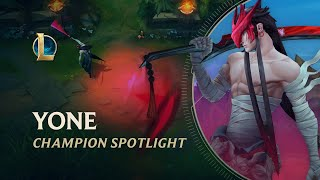 Yone Champion Spotlight | Gameplay - League of Legends