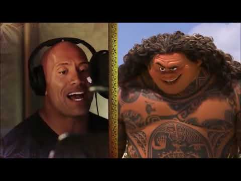 "MOANA:Dwayne ""The Rock"""