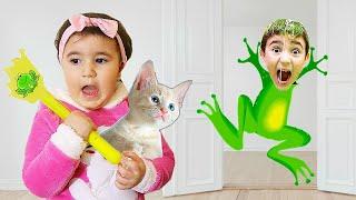 Celina Story Make Hasouna Cat - سيلينا تحول حسونة ل قطة