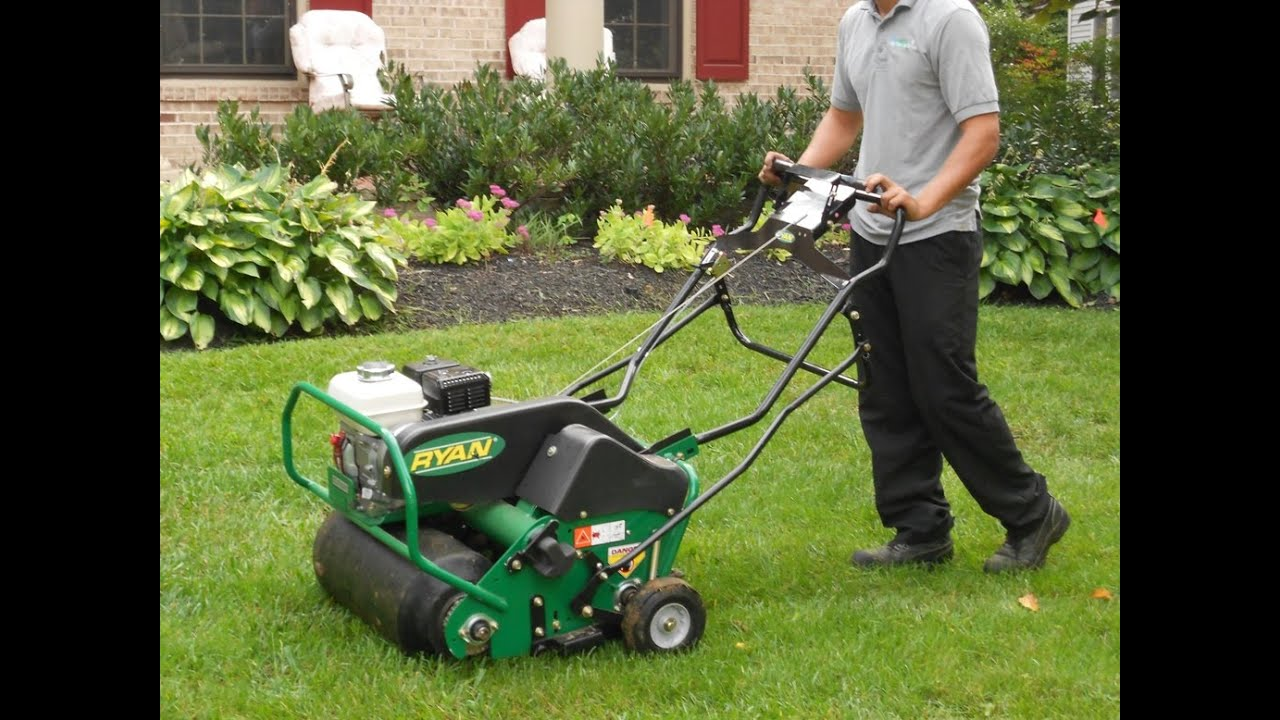 Aerator And Seeder : Pennygreen how to properly thatch aerate seed your