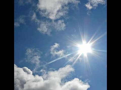 According to the Meteorological Department, the weather will be hot and dry today