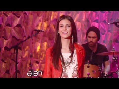 Victoria Justice 'Make It In America' (Live from Ellen Show)