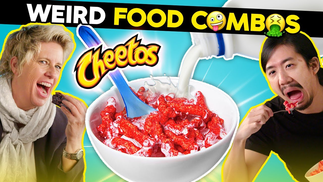 Adults React To And Try The WEIRDEST Food Combinations | Try Not To Get Mad Challenge