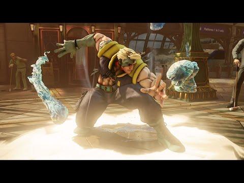 Street Fighter 5 - Ryu vs Nash Full Match in 60 FPS