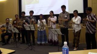 PPI Todai - Heavy Rotation Angklung Performance