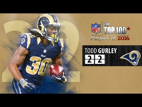 #22: Todd Gurley (RB, Rams) | Top 100 NFL Players of 2016