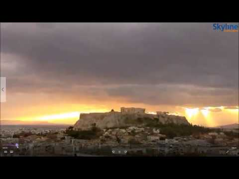 The Acropolis of Athens - The Parthenon - Greece - November - 12 - 2016