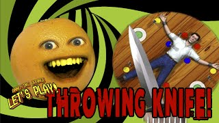 Annoying Orange Plays - Throwing Knife!