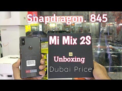Hindi | Xiaomi Mi Mix 2S Unboxing. Ceramic Black. Available In Dubai