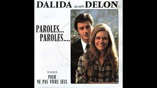 Paroles Paroles - Dalida & Alain Delon