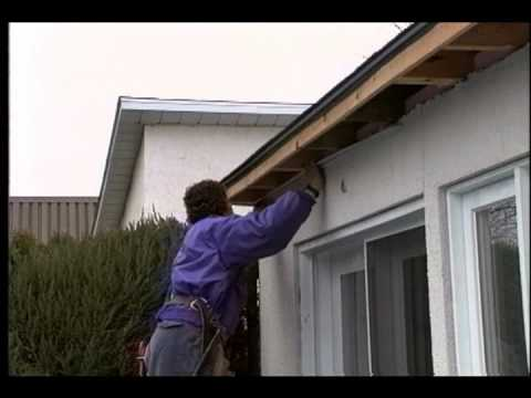 Soffits Installation 1 Youtube