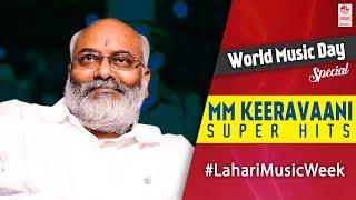 MM Keeravani Super Hit Songs   Telugu Super hit Songs   World Music Day 2017