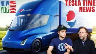 Tesla Time News -  PepsiCo Orders 100 Tesla Semi Trucks