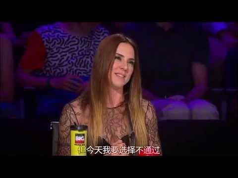 Melanie C rapping Wannabe on Asia's Got Talent