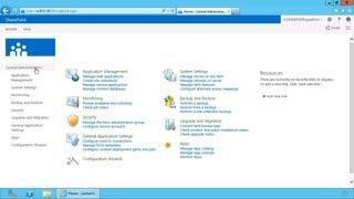 Install SharePoint 2013 - Part 6 SharePoint