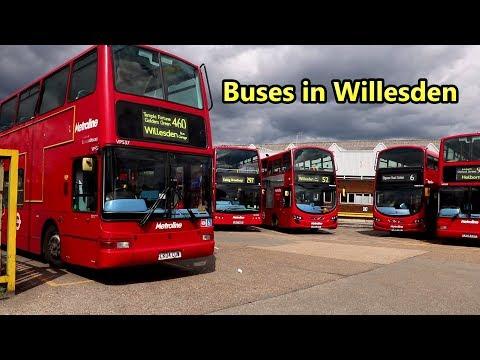 Buses in Willesden – 2017