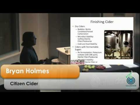 Analysis and control in the commercial production of hard cider