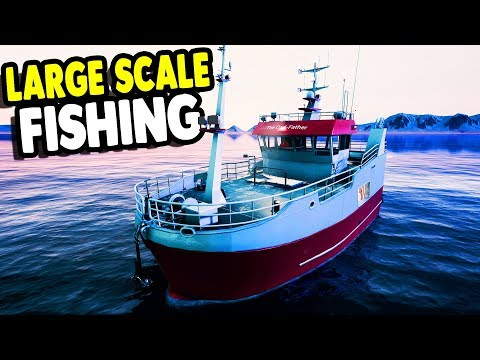 NEW UNLOCKED Fishing Boat FACTORY & Big Net Fishing | Fishing: Barents Sea
