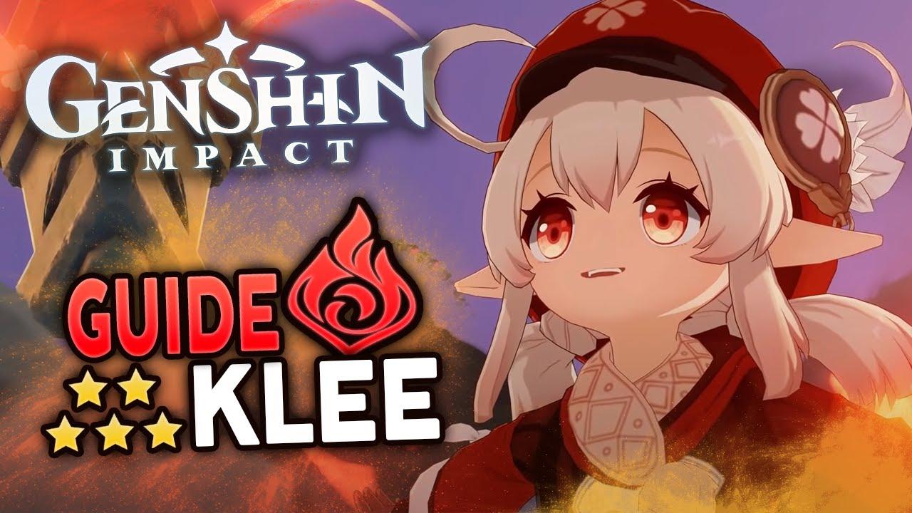 Download Klee le perso qui demande BEAUCOUP de skill !   Guide Genshin Impact FR