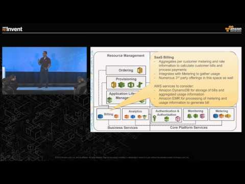 AWS re:Invent 2015 | (ARC304) Designing for SaaS: Software Delivery Models on AWS