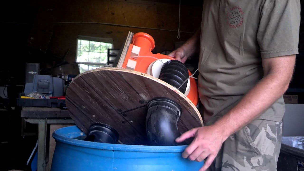 How To Dust Separator Collector W Drum Amp Blower Youtube