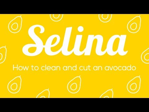 How to clean and cut an avocado