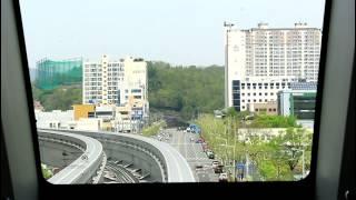 대구 도시철도 3호선 전구간 주행 영상 (Rail View)