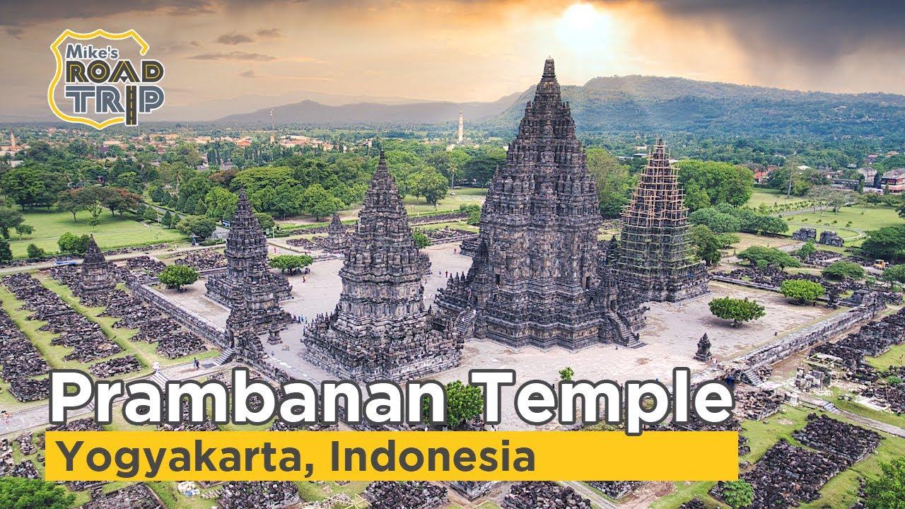Prambanan Temple In Wonderful Indonesia Youtube