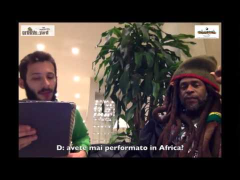 David Hinds outta Steel Pulse interviewed by Fede Laky - Groove Yard crew