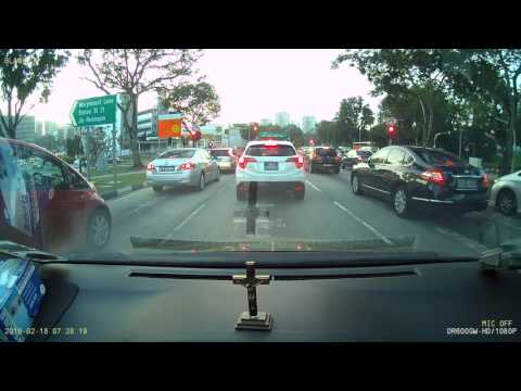 An Example of INTUITIVE Defensive Driving