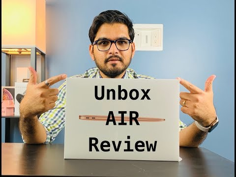 Apple Mac Book Air 2018 - Unboxing - Review & first look