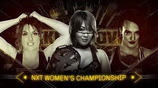 WWE NXT TakeOver: Chicago 2017 - Triple Threat (#NXT Women's Champi...