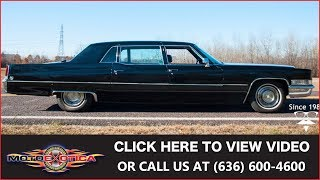 1969 Cadillac Fleetwood Series 75 Limousine || For Sale