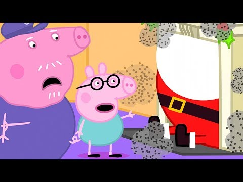Peppa Pig Official Channel 🎅 Santa's Visit At Grandpa Pig's House