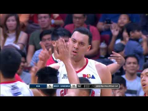 PBA Philippine Cup 2018 Eliminations: Kia vs. Ginebra Feb. 7, 2018