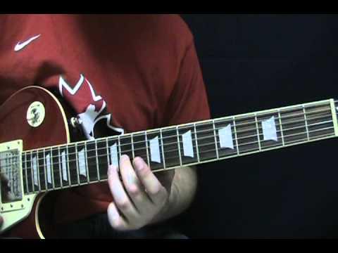 Guitar Lesson Always (Solo) by Bon Jovi - How to Play Always Guitar Tutorial - Richie Sambora