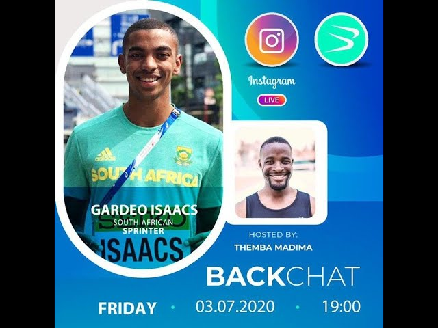 BackChat ep17 with Gardeo Isaacs